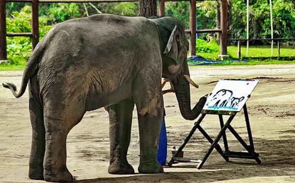 elephant-art