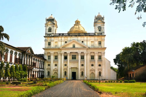 Church-of-St.-Cajetan,-Old-Goa