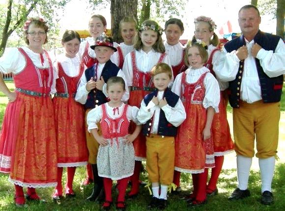 Чешская семья