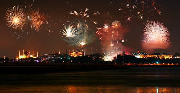 Istanbul Turkey New Year