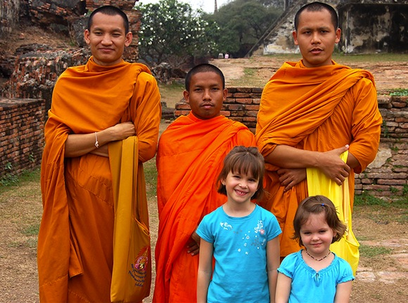 monks-with-children