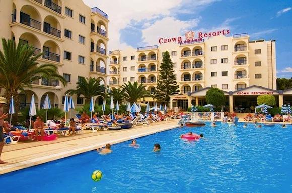 Crown Resort Elamaris Отдых с детьми на Кипре