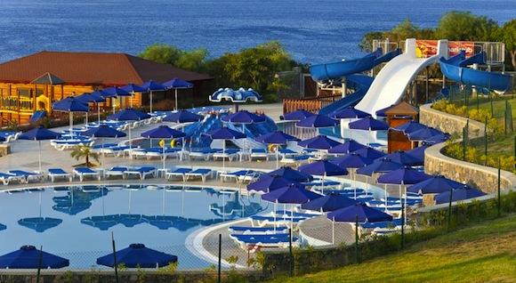 Отели на Родосе с водными горками