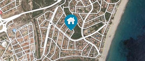Апартаменты на Коста Дорада Турагентство Полетелинаморе 59269-mapa