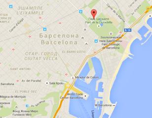 Квартиры в Барселоне. Аренда апартаментов в Барселоне. Полетелинаморе poletelinamore 422946-mapa